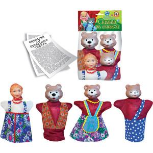 Кукольный театр Русский стиль Кук.театрТри медведя 4 персонажа (11064)