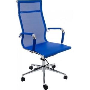 Компьютерное кресло Woodville Reus темно-синее printio синее сердце
