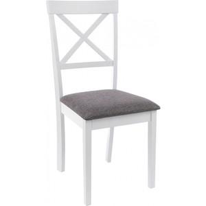 Стул Woodville Shem white/light grey
