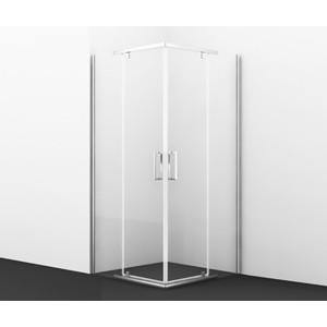 Душевой уголок Wasserkraft Leine 90х90х200 профиль хром, стекло прозрачное (35P03) фото