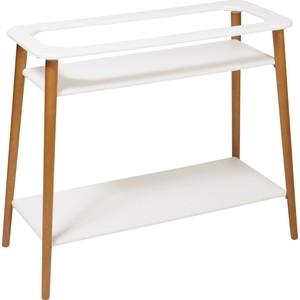 Подцветочницы Калифорния мебель Подставка для цветов Терра Белый