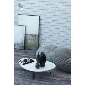 Столы журнальные Калифорния мебель Дадли Белый бетон