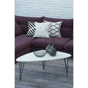 Фото - Столы журнальные Калифорния мебель Престон Белый бетон бетон