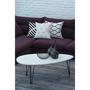 Фото - Столы журнальные Калифорния мебель Шеффилд Белый бетон бетон