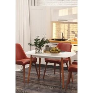 Столы обеденные Калифорния мебель Персей белый
