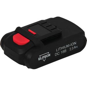 Аккумулятор Elitech 18В, 2,0Ач Li-ion, для ДА 18СЛК (1820.067600)