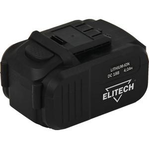 Аккумулятор Elitech 18В, 4,0Ач Li-ion, для ДА 18СЛК (1820.067700)