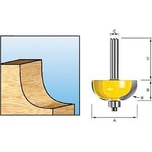 Фреза кромочная Makita 8 мм 28,6х32/12,7 R-9,52 (D-11477)