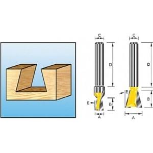 Фреза Makita ласточкин хвост 8 мм 9,5х32/9,5 мм (D-10883) цена
