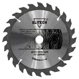 Диск пильный Elitech 250 мм х32/30 ммх2,8 36 зубьев (1820.056400)