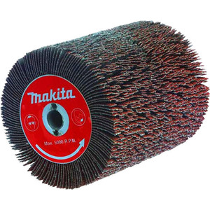 Щетка пластинчатая Makita 100х120 мм абразивная К40, для 9741 (P-01127) щетка пластинчатая makita 100х120 мм абразивная к120 для 9741 p 19233