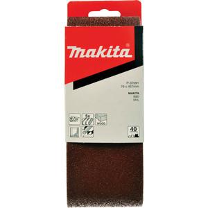 Шлифлента Makita 76х457 мм К40, 5шт (P-37091)