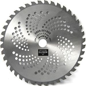 Нож для триммера Elitech 40зубьев 254х25,4х1,4 мм (0809.001800)
