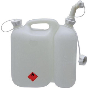 цена на Канистра комбинированная Makita для 5л топлива и 2.5л масла (949000035)