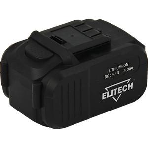Аккумулятор Elitech 14. 4В, 4. 0 Ач Li-ion, для ДА 14СЛК (1820. 067500)