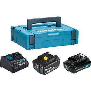 Набор аккумулятор и зарядное устройство Makita DC18RE-1 шт, BL1021B-1 шт, BL1850B-1 шт (199024-2)