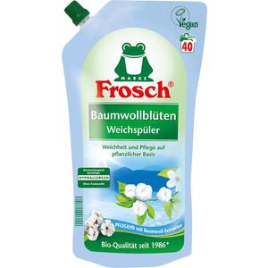 Концентрированный ополаскиватель Frosch для белья Цветы Хлопка, 1 л кондиционер ополаскиватель milli baby концентрированный 1 л