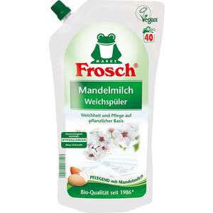 Концентрированный ополаскиватель Frosch для белья Миндальное молочко, 1 л