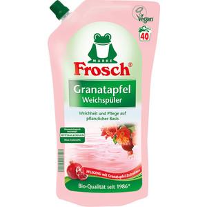 Концентрированный ополаскиватель Frosch для белья Гранат, 1 л кондиционер ополаскиватель milli baby концентрированный 1 л