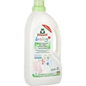 Жидкое средство Frosch для стирки детского белья, 1.5 л цены