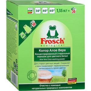 Стиральный порошок Frosch Колор Алоэ Вера для цветного белья, 1.35 кг цены онлайн