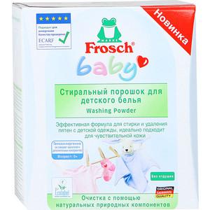 Стиральный порошок Frosch для детского белья, 1.08 кг стиральный порошок molecola для белого и цветного детского белья экологичный 1 2 кг