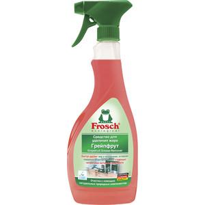 Средство Frosch Грейпфрут для удаления жира 500 мл жидкость для удаления жира с кухонных поверхностей мистер чистер 500 мл