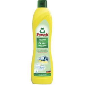 Чистящее молочко Frosch Лимон 500 мл протеин weider protein 80 plus лимон творог 500 г