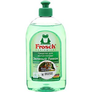 Средство для мытья посуды Frosch Зеленый лимон, 500 мл водонагреватель накопительный thermex if 100 v pro 2000 вт 100 л