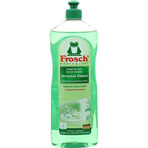 Средство для мытья посуды Frosch Зеленый лимон, 1 л средство для посуды aro лимон