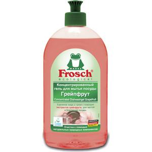 Гель для мытья посуды Frosch Грейпфрут, концентрированный, 500 мл