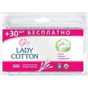 Ватные палочки LADY COTTON 300 шт в п/э
