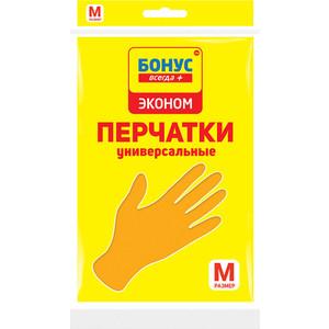 Перчатки хозяйственные БОНУС 2шт Эконом М