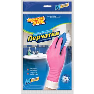 Перчатки хозяйственные ФРЕКЕН БОК 2шт универсальные плотные розовые M