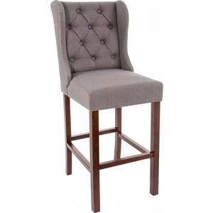 Барный стул Woodville Luton серый