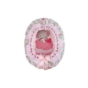 Подушка валик гнездо Золотой гусь Слоник Боня розовый 8916