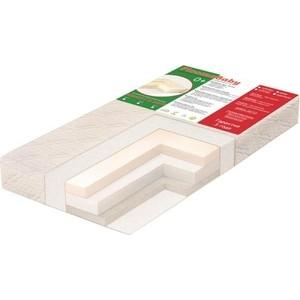 Матрас детский Ploomababy MEMORY 3 MHW B1, (А2) зима-лето 120х60х13 bamboo/ мемори/холлкон/хол-шерсть M3