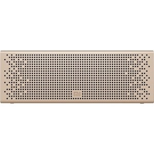 Портативная колонка Xiaomi Mi Bluetooth Speaker gold колонка портативная xiaomi mi bluetooth speaker gold mdz 26 db qbh 4104 gl