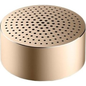 Портативная колонка Xiaomi Mi Bluetooth Speaker Mini gold (FXR4039CN) wireless bluetooth speakers led metal steel mini portable speaker smart hands free speaker with fm radio sd card support