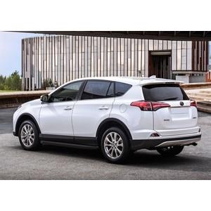 Пороги Premium-Black Rival для Toyota Rav 4 (2015-н.в.), 173 см, алюминий, A173ALB.5705.4 пороги алюминиевые premium black rival для kia sportage 2016 173 см 2 шт a173alb 2309 2