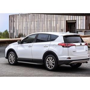 Пороги Premium Rival для Toyota Rav 4 (2015-н.в.), 173 см, алюминий, A173ALP.5705.4 цена