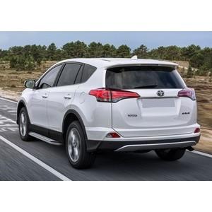 Пороги Bmw-Style Rival для Toyota Rav 4 (2015-н.в.), 173 см, алюминий, B173AL.5705.4 рейлинг левый алюминий 51137356433 для bmw x1 f48 2015