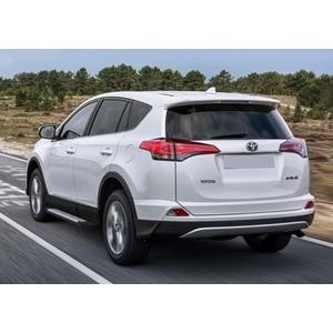 Пороги Bmw-Style Rival для Toyota Rav 4 (2015-н.в.), 173 см, алюминий, D173AL.5705.4 toyota rav 4 iv 2012