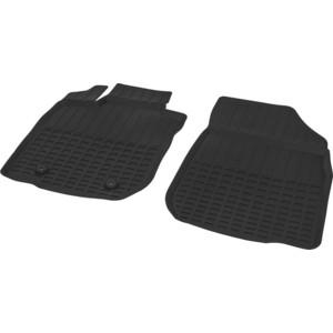 Коврики салона литьевые передние Rival для Lada Largus фургон (2 места) (2012-н.в.), резина, 66003001