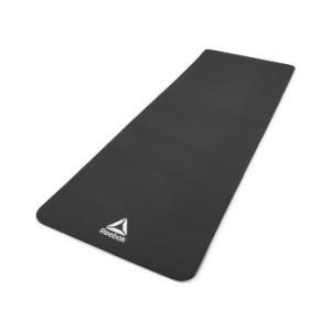 Коврик для йоги и фитнеса Reebok RAMT-11014BK (мат) 7 мм черный