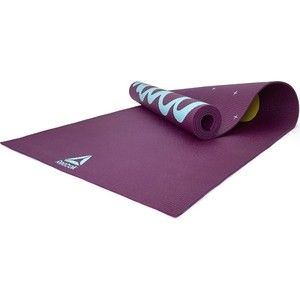 Коврик для йоги Reebok RAYG-11030HH (мат) 4мм Yoga Mat Crosses-Hi