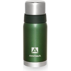 Термос 0.5 л Арктика зелёный с узким горлом (американский дизайн) 106-500