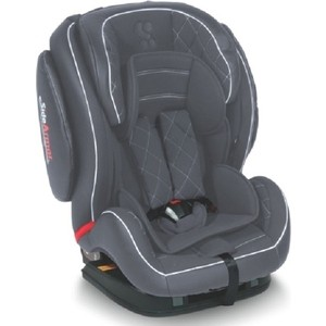 Автокресло Lorelli BS02N-T Arthur sps isofix 0-25 кг Серый / Grey Leather 1838