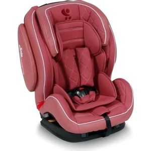Автокресло Lorelli BS07-TT Mars эко-кожа sps isofix 9-36 кг Розовый / Rose Leather 1767 цена 2017