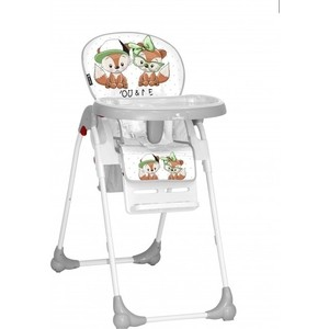 Стульчик для кормления Lorelli Oliver Серый / Grey Foxes 1828 стульчик для кормления geuther family серый